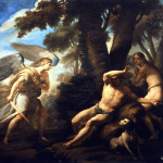 Why Does God Allow Suffering Adam and Eve Expelled from Paradise. 1761. Louis Gonzalez
